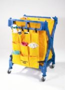 Huskee Structural Folding Waste Cart
